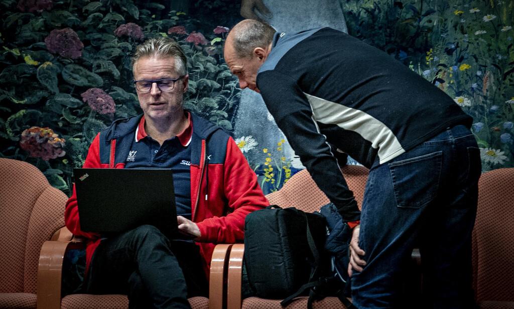 Brav-topper: Åge Skinstad og Christian Gløgård er fungerende administrerende direktør og forskningssjef i Brav, som eier både Swix og Toko. Foto: Bjørn Langsem