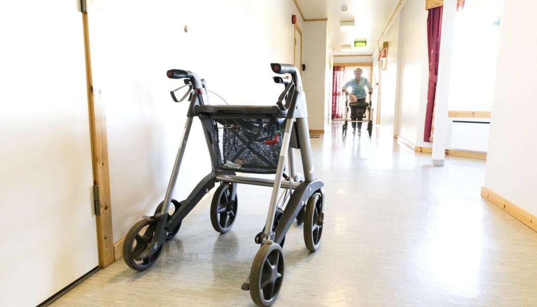 Det ble registrert rundt 13.000 voldsepisoder på norske sykehjem i fjor, ifølge en kartlegging utført av Aftenposten. Illustrasjonsfoto: Gorm Kallestad / NTB scanpix
