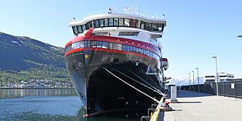 image: Hurtigruten fraranet 200 kofferter og bager i Chile