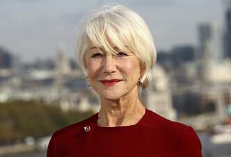 SOFISTIKERT: Elegante Helen Mirren (72) blir bare flottere med årene. Foto: Scanpix