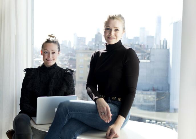 <strong>HOLDER STENGT:</strong> Anne Hauge Stensland og Milena Vormedal Bech sier de valgte å stenge nettbutikken for å tydeliggjøre hva Black Friday gjør med mindre bedrifter. Foto: Privat