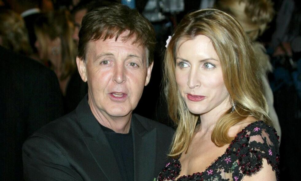 EKSPAR: Paul McCartney og Heather Mills var gift fra 2002 til 2008. Både før, under og etter ekteskapet har sistnevnte klart å skape overskrifter. Foto: NTB scanpix