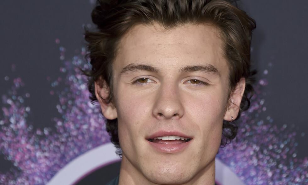 FOKUSERER PÅ HELSEN: Shawn Mendes (21) måtte avlyse konsert på grunn av sykdom. Foto: NTB scanpix