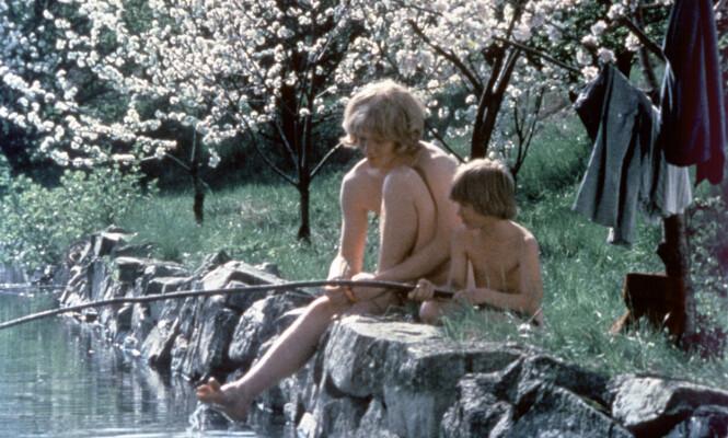 <strong>GJENNOMBRUDD:</strong> Både Lars Söderdahl og Staffan Götestam fikk sine gjennombrudd i den svenske filmklassikeren «Brødrene Løvehjerte». Foto: NTB Scanpix