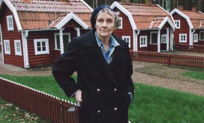 <strong>ASTRID LINDGREN:</strong> Den folkekjære forfatteren døde i 2002, 94 år gammel. Her er hun fotografert i Vimmerby i Sverige, der hun ble født i 1907. Foto: NTB scanpix