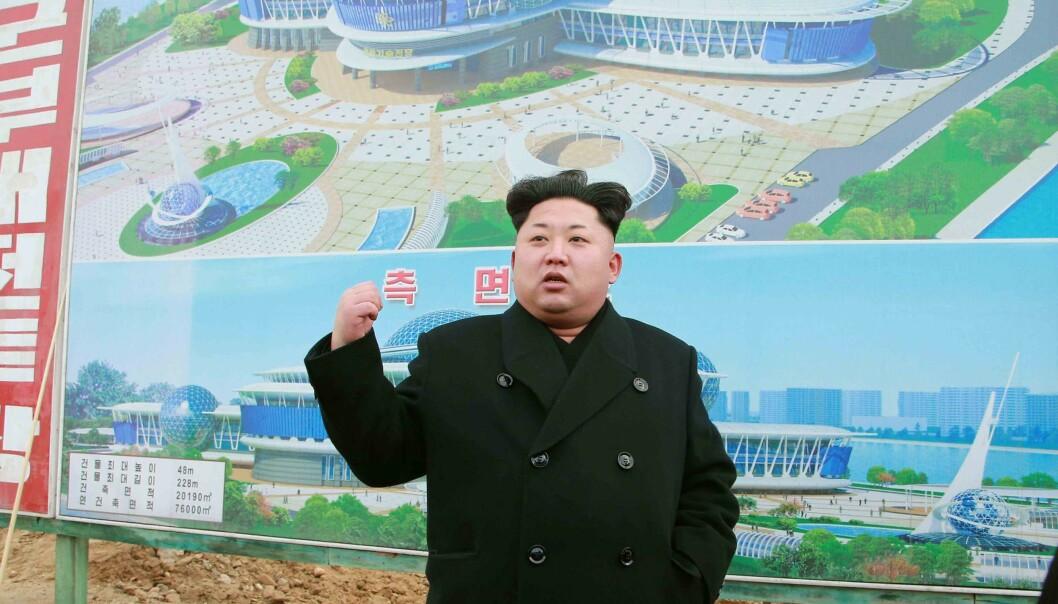 Siktet etter Nord-Korea-hjelp