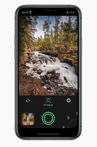 <strong>LANG LUKKERTID:</strong> Apple har kåret Spectre Camera til årets beste iPhone-app.