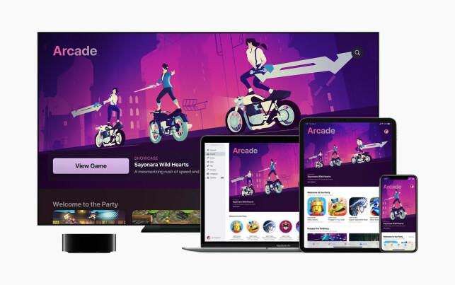 RÅTT: Sayonara Wild Hearts er kanskje det tøffeste spillet vi har spilt på Apple-produkter i år. Utrolig stilig grafikk og musikk du ikke er vant med å høre i spillverden.