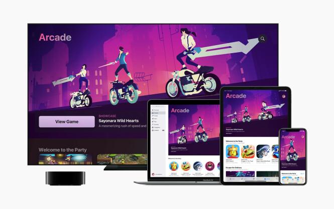 <strong>RÅTT:</strong> Sayonara Wild Hearts er kanskje det tøffeste spillet vi har spilt på Apple-produkter i år. Utrolig stilig grafikk og musikk du ikke er vant med å høre i spillverden.
