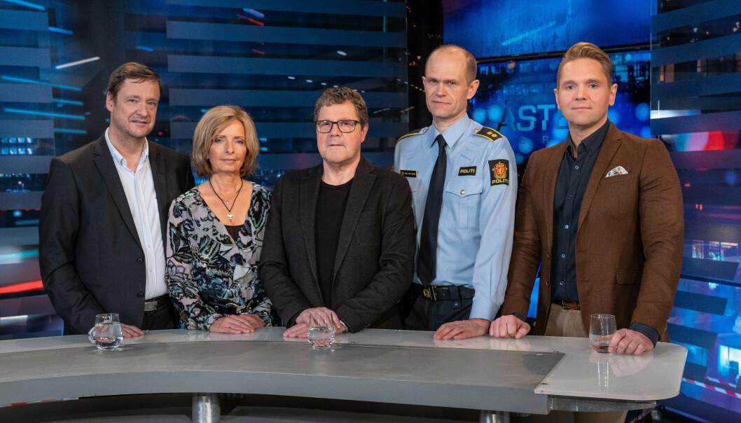 TV-GJENG: Jens Christian Nørve og ekspertgruppa i «Åsted Norge». Foto: NTB Scanpix