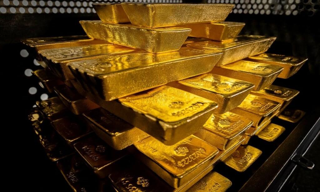 GULLBARRER: 100 tonn med gull er nå tilført hvelvet i Polen. Foto: Den polske sentralbanken