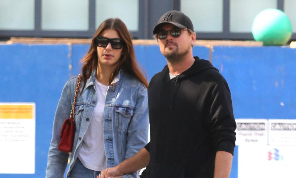 <strong>ALDERSFORSKJELL:</strong> Leonardo DiCaprio og Camila Morrone er i et forhold med 23 års aldersforskjell. Foto: NTB Scanpix