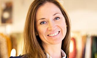 <strong>SLÅR TILBAKE:</strong> H&amp;M Norges pressetalskvinne Kristin Fjeld.