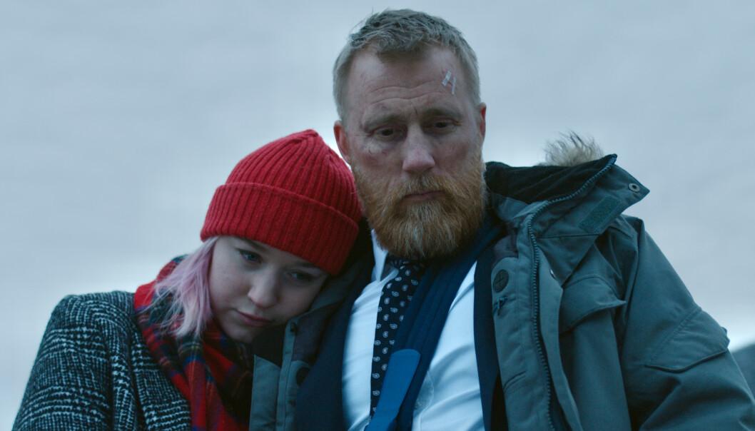DRAMA: Ylva Fuglerud og Thorbjørn Harr spiller far og datter i spenningsfilmen Tunnelen, som har premiere andre juledag. FOTO: Nordisk film Distribusjon/Nordisk film Production