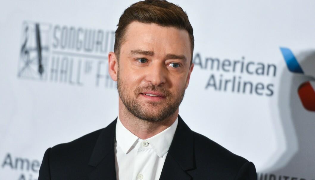 I HARDT VÆR: Justin Timberlake har den siste tiden måtte tåle hard kritikk etter at han ble observert med en annen kvinne. Nå snakker han ut om opptrinnet og ryktene. Foto: NTB Scanpix