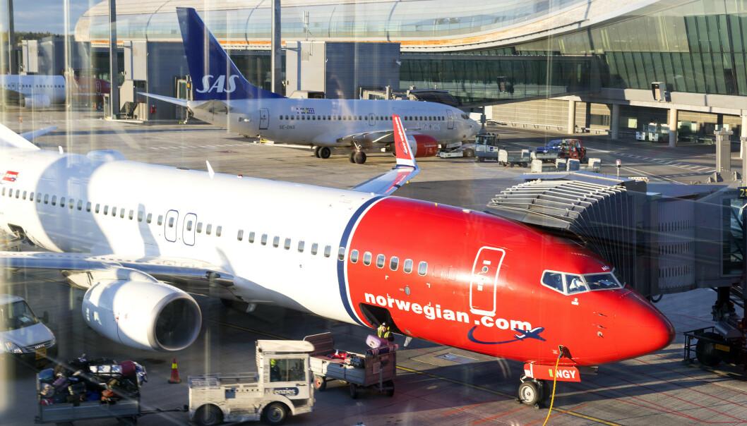 <strong>KANSELLERER:</strong> Både SAS og Norwegian har nå kansellert flyvninger til Italia. Foto: Gorm Kallestad / NTB scanpix