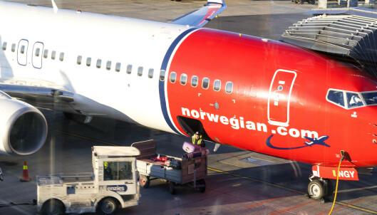 Norwegian innstiller flyvninger til Italia