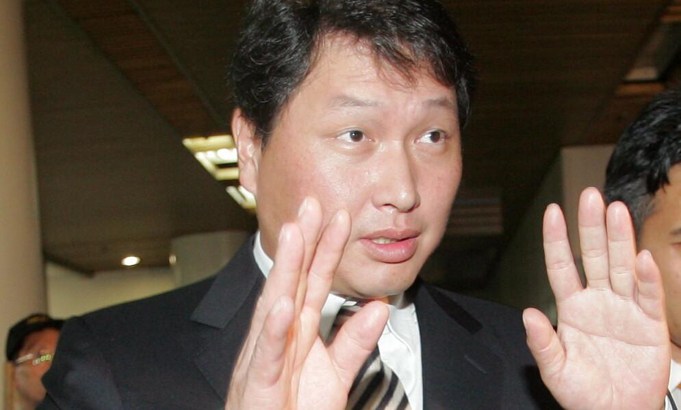 I HARDT VÆR: Den sørkoreanske milliardæren Chey Tae-won skilles fra presidentdattera Roh Soh-yeong. Det kan bli en svært kostbar affære. Foto: NTB scanpix