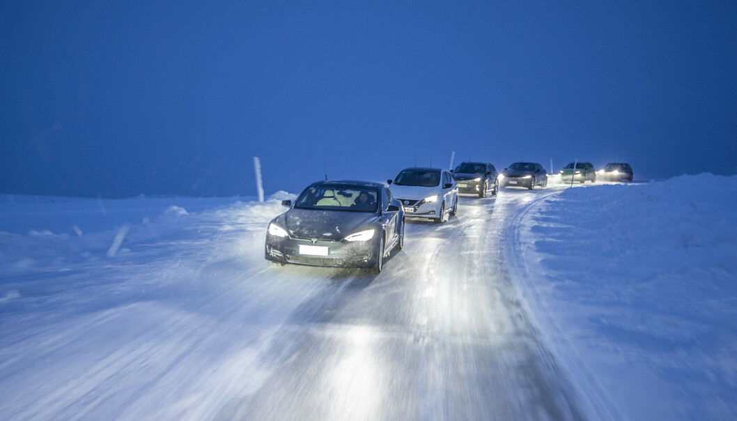 KULDA PÅVIRKER: Det finnes tips og triks som holder bilen lenger i gang i kulda. Foto: Velimatti Honkanen, TM