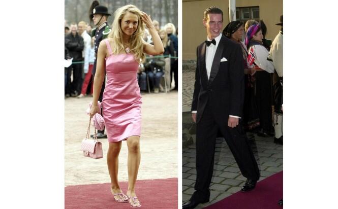 EKSEN: Kronprins Guillaume ble introdusert for norske Pia Haraldsen under kronprinsbryllupet i Oslo i august 2001. De ble senere et par, men gjorde det slutt i 2004. FOTO: NTB scanpix