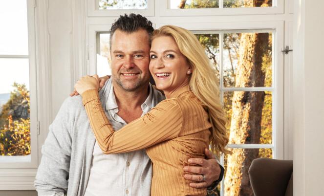 GODT GIFT: Karianne og ektemannen Tormod Samuelsen. Foto: Morten Eik / Se og Hør