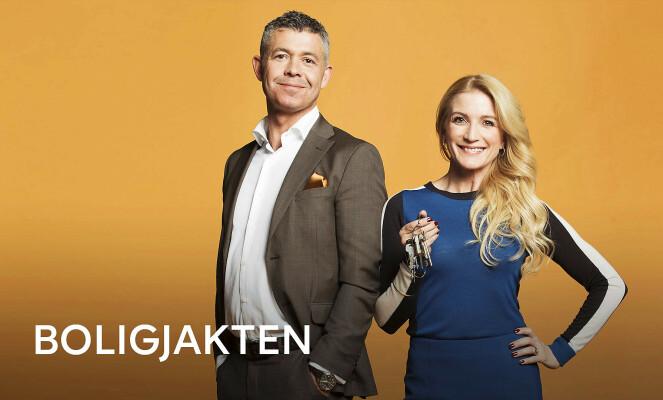 PÅ TV: Karianne er programleder i «Boligjakten» på TV3 sammen med blant andre Hans Christian Espenes. Foto: TV3