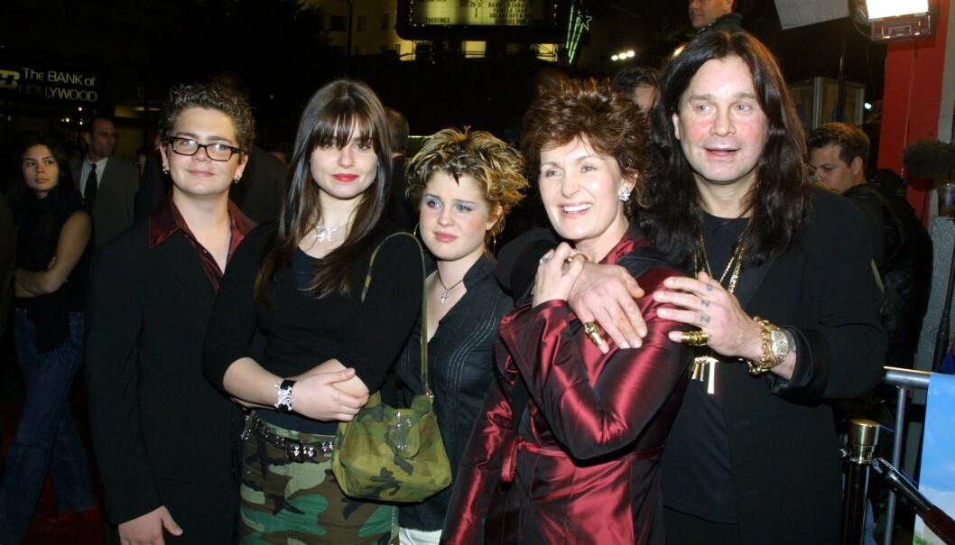 ÅR 2000: Den berømte familien har vært store stjerner siden deltakelsen i «The Osbournes» fra 2002 til 2005. Foto: NTB Scanpix