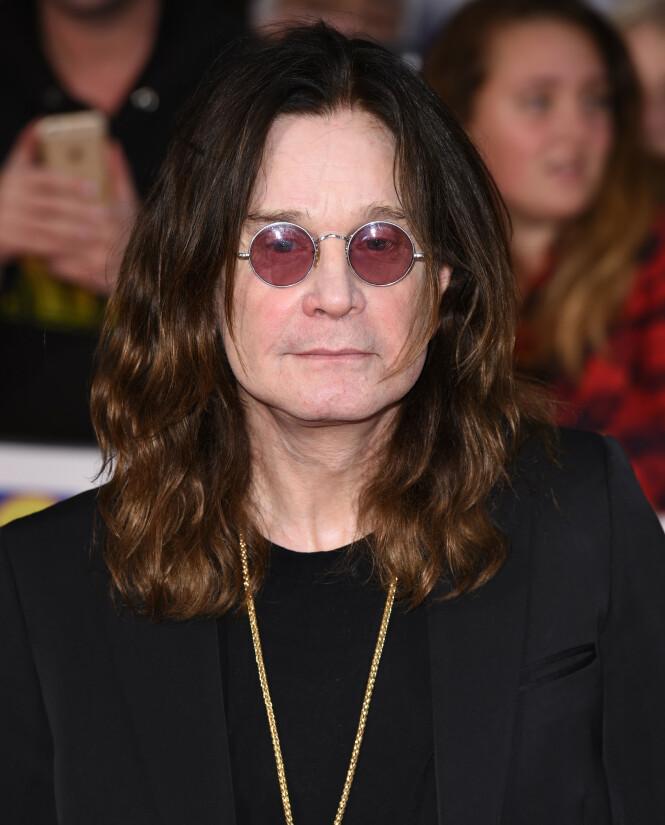 HELSEPROBLEMER: Ozzy Osbourne har slitt med helseproblemer i mange år. Foto: NTB Scanpix