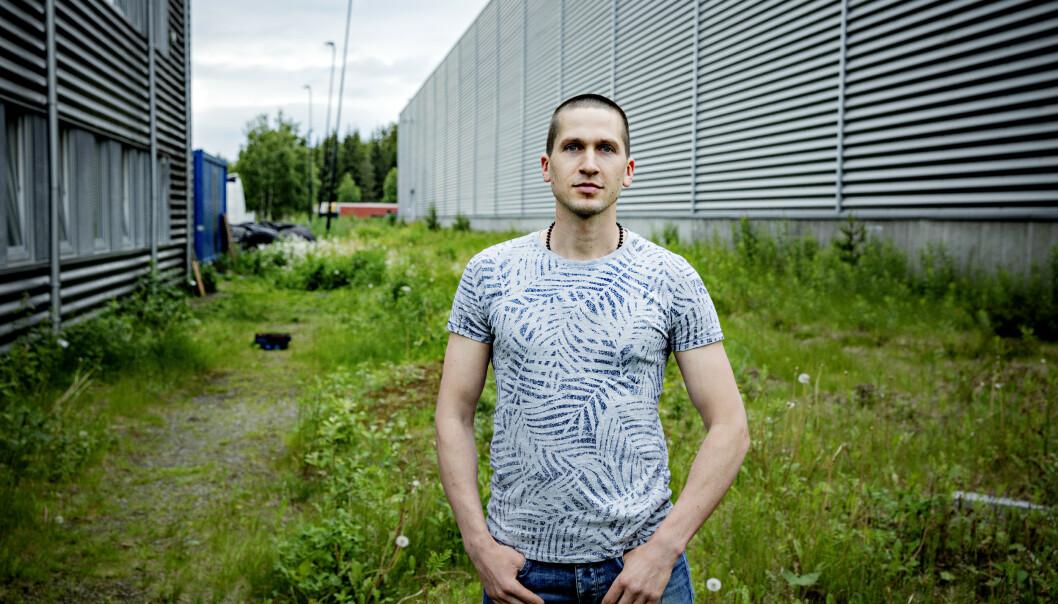 <strong>SKULLE HOLDE KJEFT:</strong> Vaidas Sakalauskas fikk beskjed om at han ikke skulle få mer jobb i Norge, hvis han fortalte om hva som hadde skjedd. Foto: Nina Hansen / DAGBLADET
