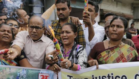Indisk kvinne anmeldte menn for voldtekt – døde etter å ha blitt satt fyr på