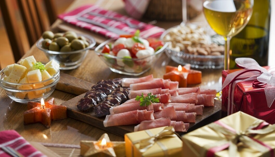 JULESNACKS: Vi spiser mye god mat i desember. Dadler kan være et sunt valg! FOTO: NTB Scanpix