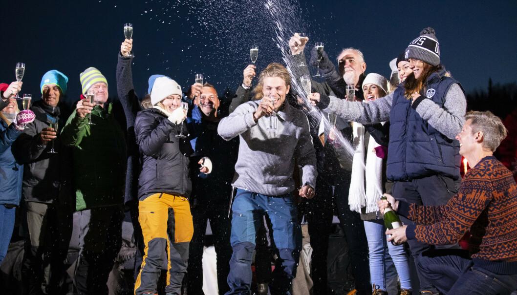ÅRETS VINNER: Erik Rotihaug (24) gikk helt til topps i kampen om tilværelsen. Foto: Tor Lindseth/Se og Hør