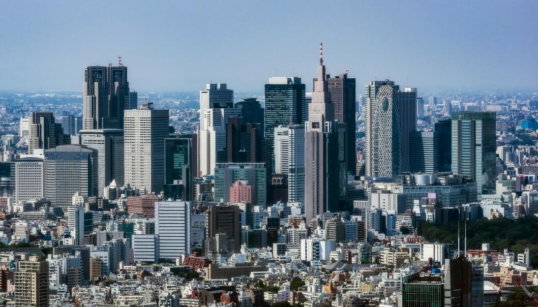 <strong>TOKYO:</strong> SAS åpner direkterute fra København til Japans hovedstad Tokyo. Foto: Thomas Haupt / imageBROKER / REX / NTB Scanpix