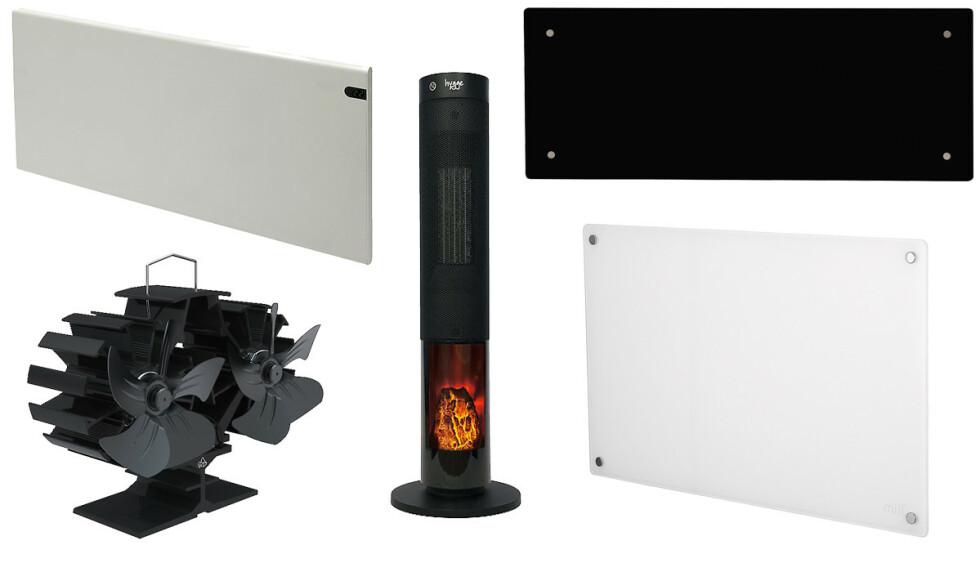 MANGE VALG: Hva slags varmekilde bør du bruke hvor?