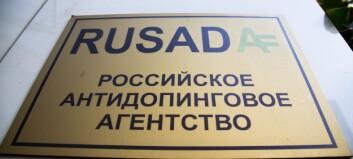 RUSADA: - En tragedie for rene utøvere