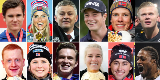 image: Disse er nominert til Folkets idrettspris 2019