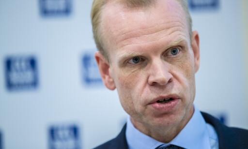 ØKTE MEST: Yara-toppsjef Svein Tore Holsether hadde størst økning i godtgjørelse av de statlige toppsjefene i 2018. Foto: Stian Lysberg Solum / NTB scanpix