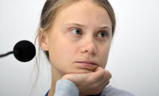 image: Thunberg med bønn til Solberg