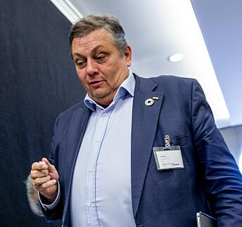 <strong>ADVARER:</strong> NITO-president Trond Markussen. Foto: Stian Lysberg Solum / NTB scanpix