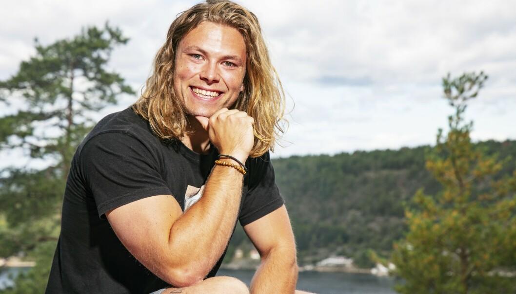 <strong>«FARMEN»-VINNEREN:</strong> Erik Rotihaug (24) vant både hytte og bil da han gikk helt til topps i gårdskonkurransen. Foto: Tor Lindseth/Se og Hør