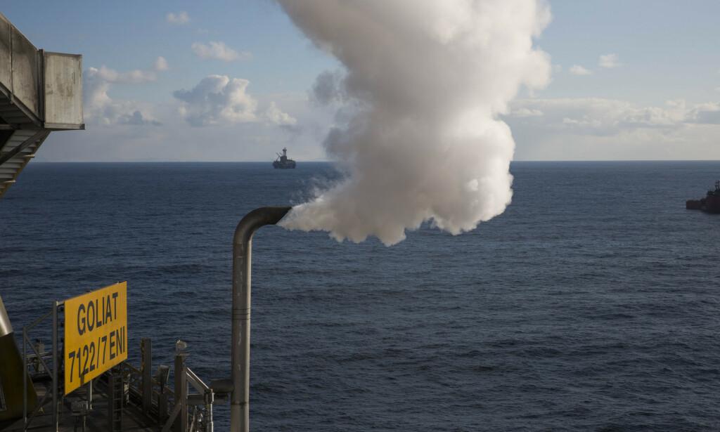 GOLIAT: Goliat-plattformen i Barentshavet. Vår Energi er operatør. Foto: Jan-Morten Bjørnbakk / NTB scanpix