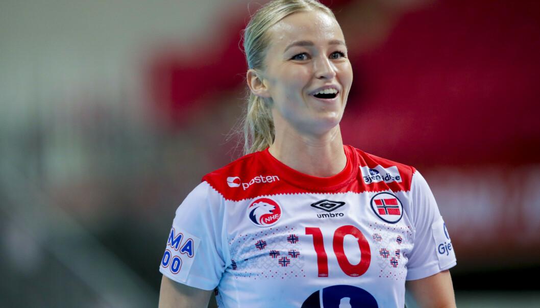 Stine Bredal Oftedal og Norge trenger ett poeng til for å komme til semifinalen i håndball-VM. Foto: Vidar Ruud / NTB scanpix