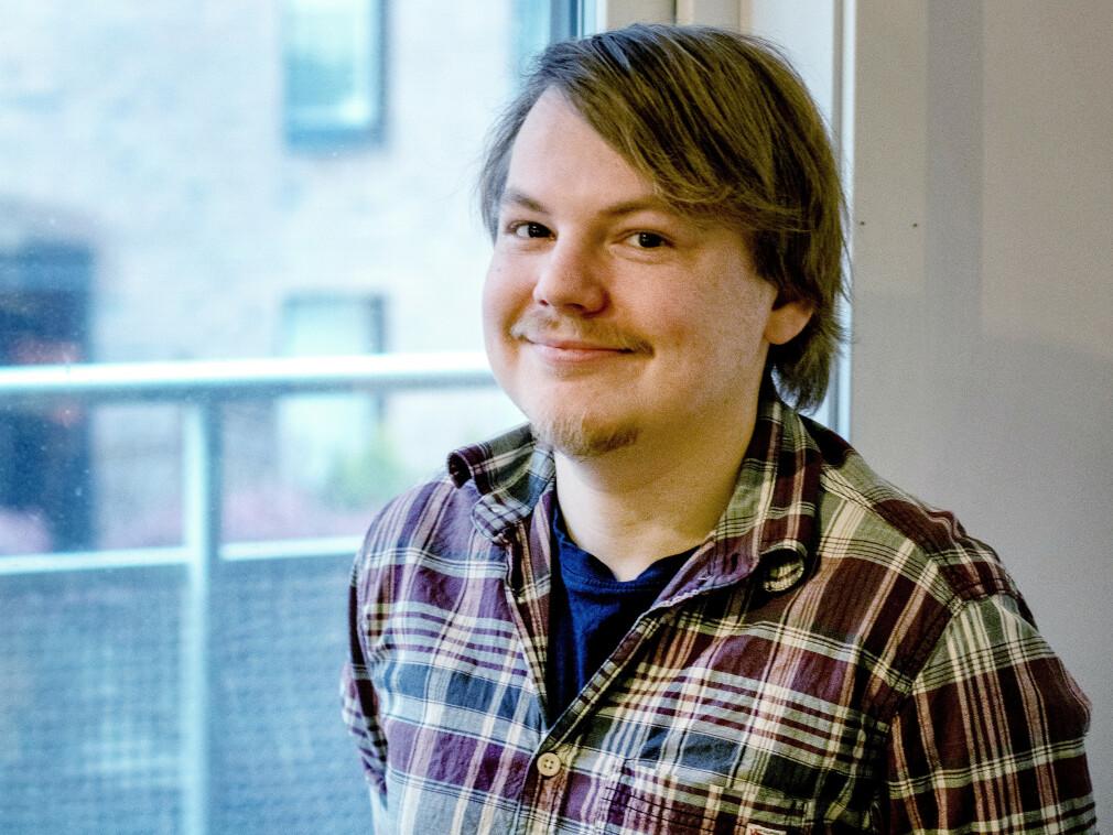 Julian Ravn Thrap-Meyer i Tripletex er Ukas Koder på kode24. 📸: Privat
