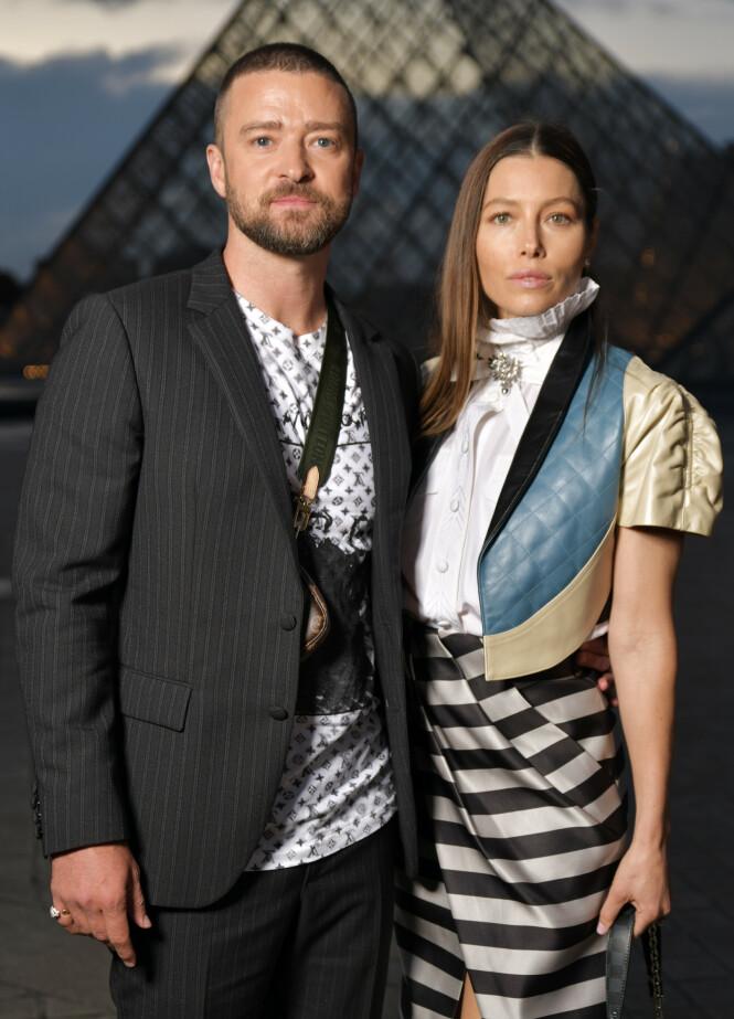 STABILT PAR: Biel og Timberlake har vært sammen i en årrekke. Kona skal ha vært langt fra fornøyd etter at ektemannen ble observert med kollegaen Wainwright på fest. Foto: NTB Scanpix
