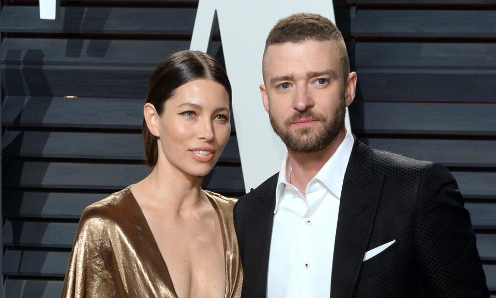 I HARDT VÆR: Justin Timberlake har vært gjenstand for mye oppmerksomhet etter at han ble observert med kollegaen Alisha Wainwright i slutten av november. Nå viser det seg at kona skal ha vært en pådriver for å stanse rykteflommen. Foto: NTB Scanpix