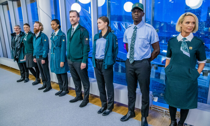 Pressevisning av Vys nye uniformer. Foto: Stian Lysberg Solum / NTB scanpix