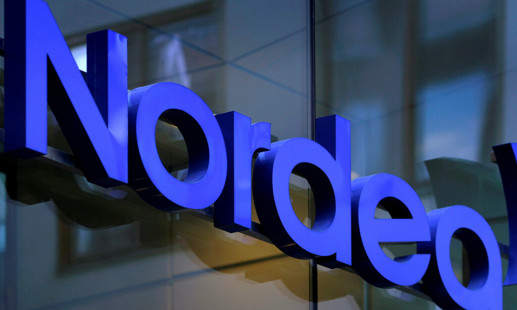 FILE PHOTO: The Nordea bank logo is seen outside their corporate headquarters in Stockholm February 2, 2011. REUTERS/Bob Strong/File Photo