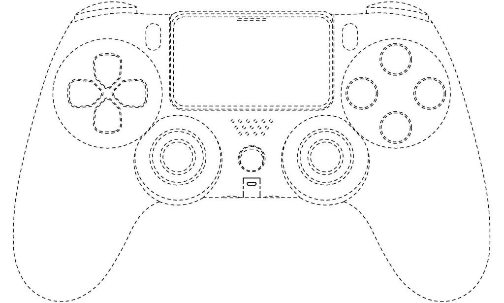 DUALSHOCK: Er det slik PlayStation DualShock 5 blir? Foto: Japan Platform for Patent Information