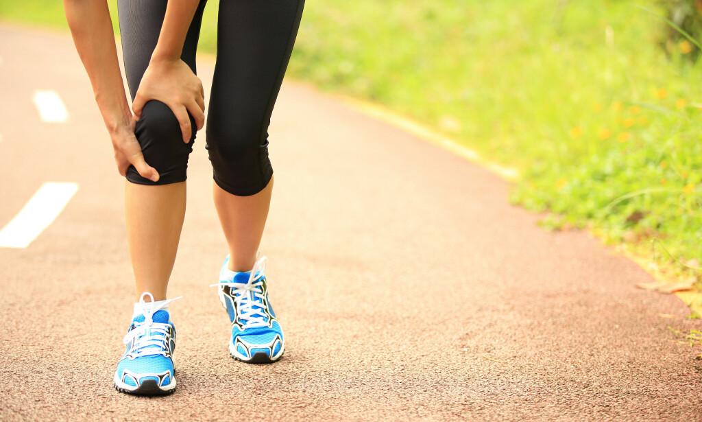 JOGGESKO: Mange tror man trenger spesielle joggesko etter hvordan foten pronerer når man løper. Foto: Shutterstock/ NTB Scanpix
