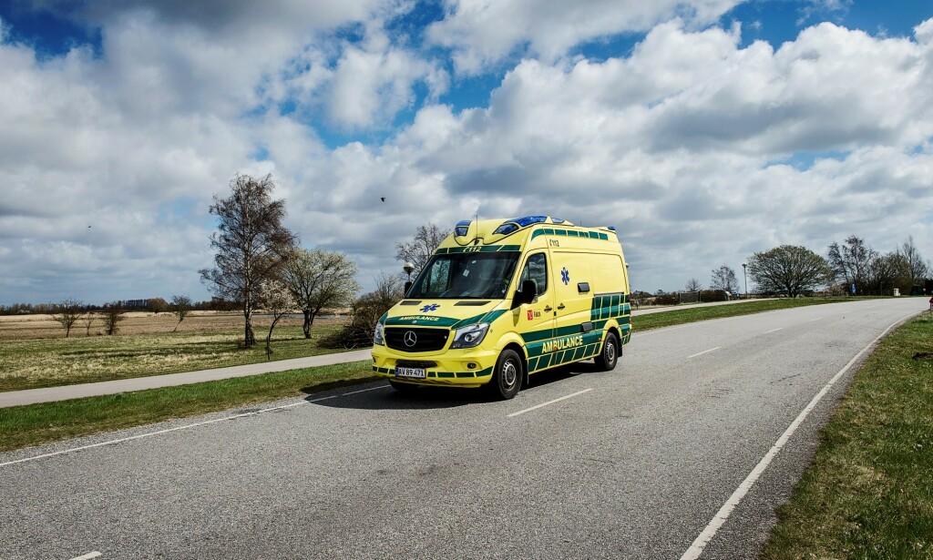 MILLIONBOT: Falck får 30 millioner i bot for å ha misbrukt sin dominerende posisjon i det danske markedet for ambulansetjenester. Foto: Falck